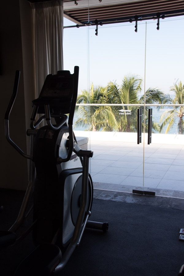 Puerto Vallarta all-inclusive hotel gym