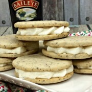 Once you make this Baileys Irish Cream coffee cookie recipe, you will have your go-to dessert for every year on St. Patrick's Day. But don't stop there! These are delicious all year long!