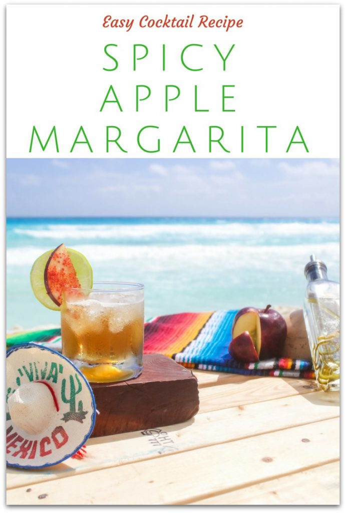 National Margarita Day is right around the corner, and this spicy apple margarita is the perfect way to celebrate!