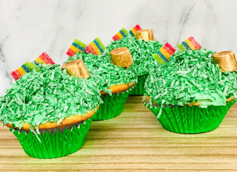 These St. Patrick's Day cupcakes are the perfect ending to any St. Patrick's Day party.