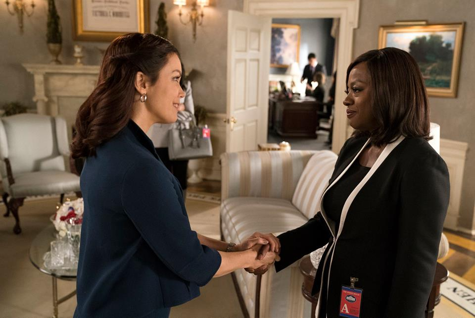 As a new viewer of this hit series on ABC, I can honestly say that Scandal's Bellamy Young, who plays President Mellie Grant, is almost as badass as Olivia Pope. Almost.