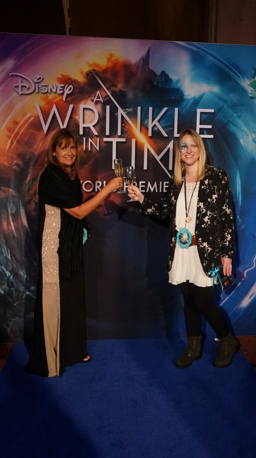 It's still kind of hard for me to believe I was actually on the 'blue' carpet for the A Wrinkle In Time World Premiere. This is one of the most anticipated films of the year.