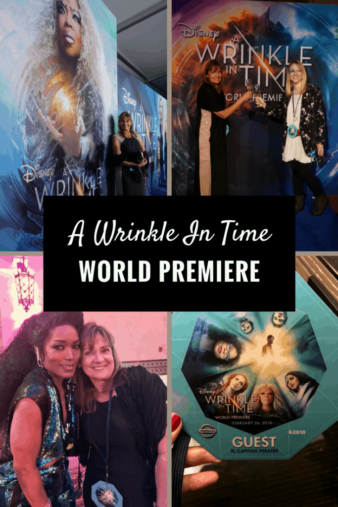 It's still kind of hard for me to believe I was actually on the 'blue' carpet for theA Wrinkle In Time World Premiere. This is one of the most anticipated films of the year.