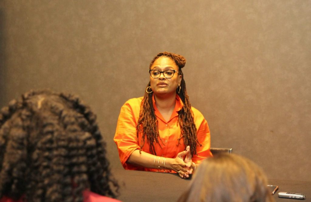 I met Ava DuVernay the day after I saw the film, A Wrinkle In Time. From the moment she spoke, I knew why everyone I've met who has worked with her has said yes, without hesitation.