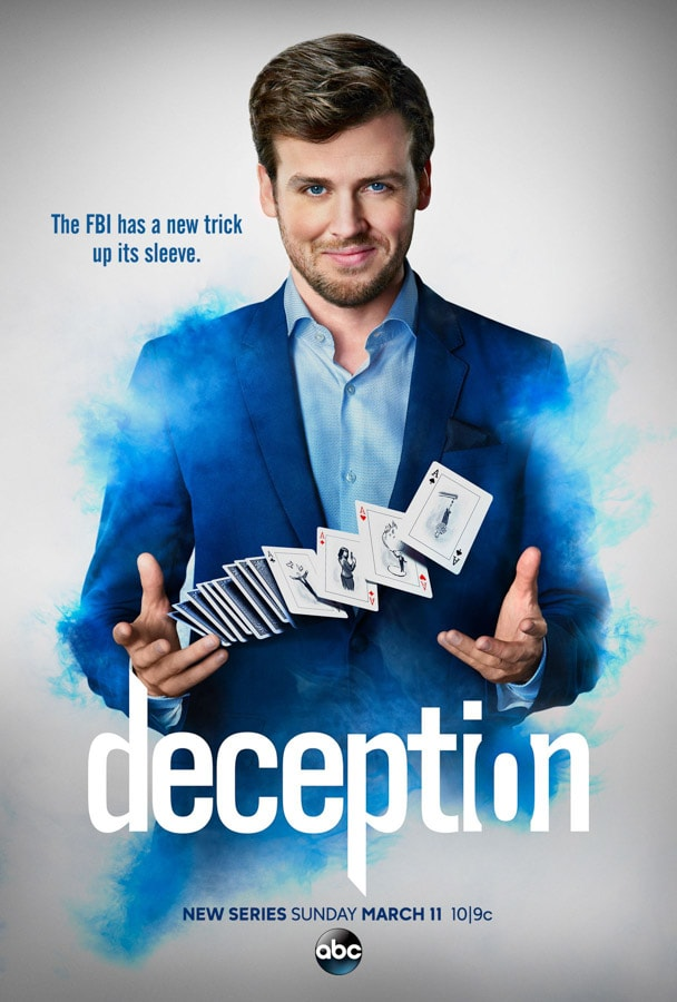 Chatting with Chris Fedak, Creator and Executive Producer of the new Deception TV show on ABC was pretty cool, but watching Co-Producer David Kwong show us how the magic really happens was absolutely fascinating.