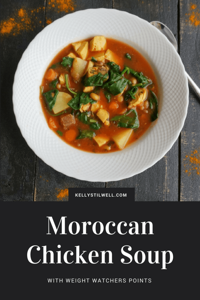 I love the flavors of Morocco, and this Moroccan Chicken Soup made an easy and delicious dinner.