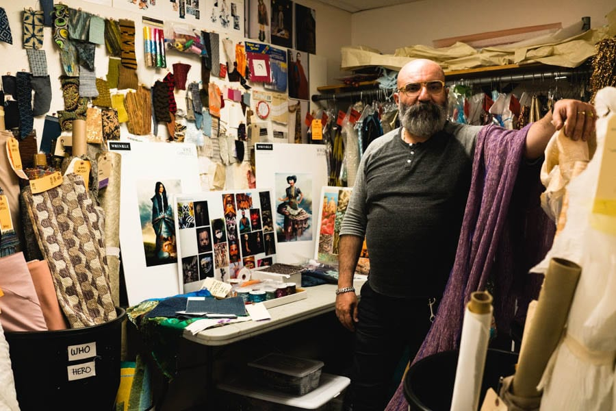 What's it like to design costumes for one of the most visually imaginative movies of the year? Paco Delgado knows. A Wrinkle In Time's costumes are out of this world!