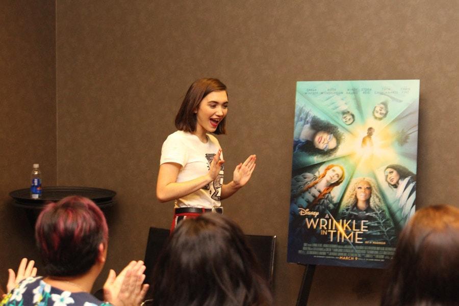 Rowan Blanchard plays Veronica Kiley in Disney's A Wrinkle In Time movie.