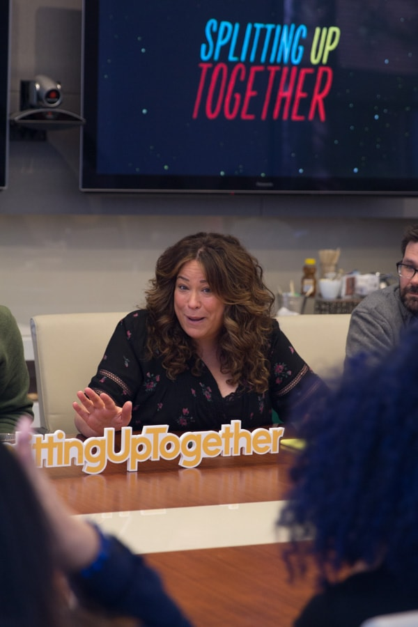 The series premiere of Splitting Up Together is tonight from 9:30-10:00 p.m. EDT on The ABC Television Network. I'm betting you've seen the hilarious commercial about this hilarious new show. Yes, it's as funny as it looks!