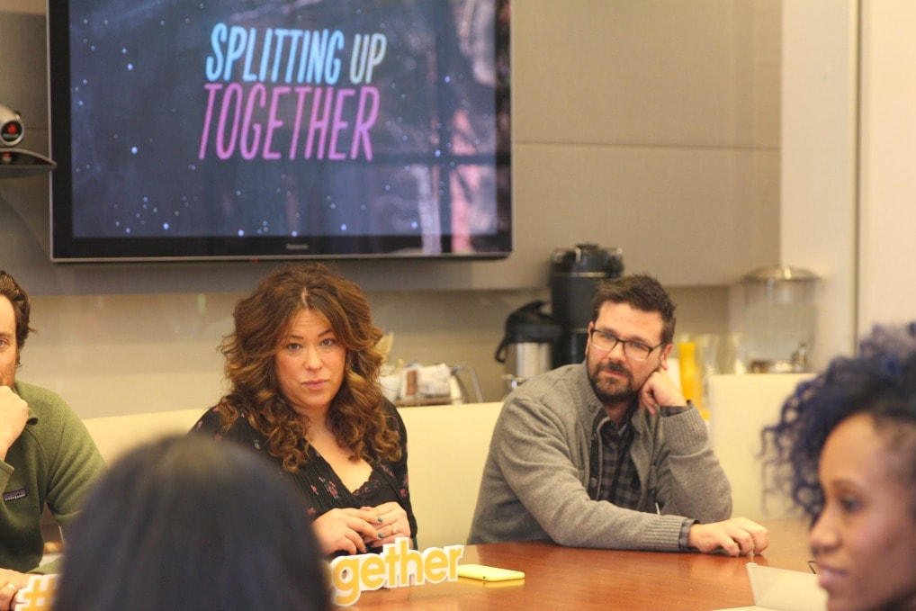 The series premiere of Splitting Up Together is tonight from 9:30-10:00 p.m. EDT on the ABC Television Network.