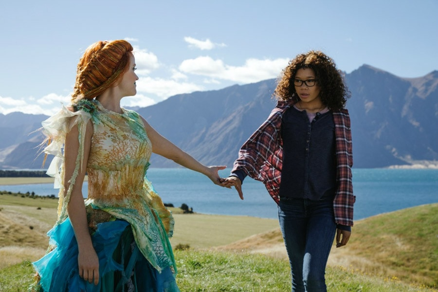 I heard from Ava DuVernay that once they had seen Storm Reid audition for A Wrinkle In Time, there was no question that she would be their Meg.