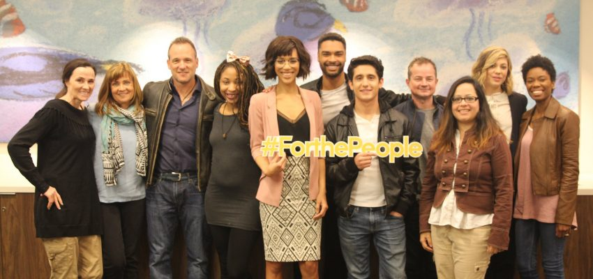 For The People: Exclusive Interview With the Cast