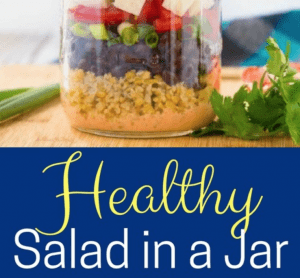 Salads in a jar are the perfect salads to go, and they are so easy to prepare. I could eat salad every day, but I get busy and it's easier to grab something quick, like a sandwich. This is often a poor choice for me