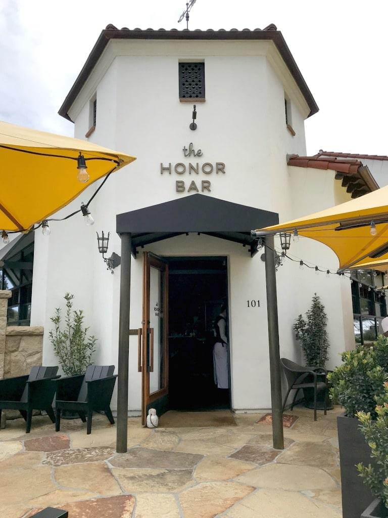 The Honor Bar in Montecito, California.