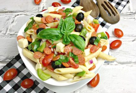 Delicious Pizza Salad Recipe