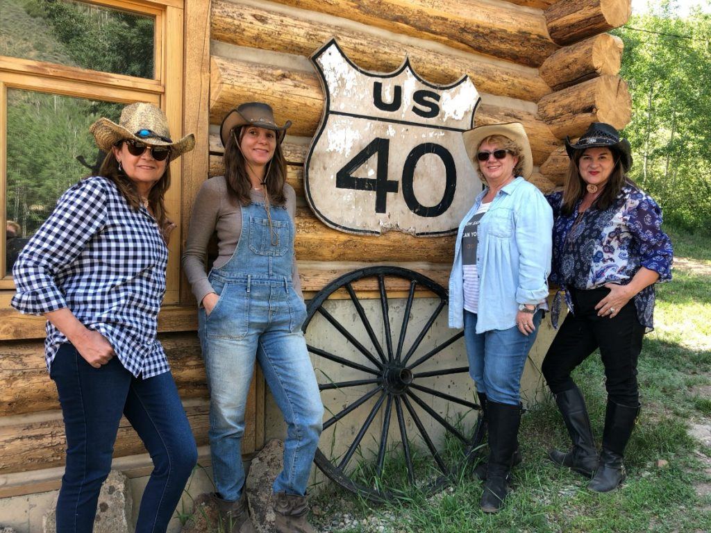 What could be better than a girl's getaway at Drowsy Water Dude Ranch Colorado? Picture this: your best girlfriends, wearing jeans and flannel shirts the entire vacation, someone else preparing your delicious meals, riding horses and hiking the Rocky Mountains. Got it? That's a Dude Ranch Colorado vacation. Who's ready?