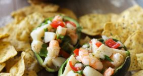 This seafood salad recipe from the Hyatt Ziva Rose Hallin Puerto Vallarta was one of the best things I've ever eaten. It's so easy to make at home!