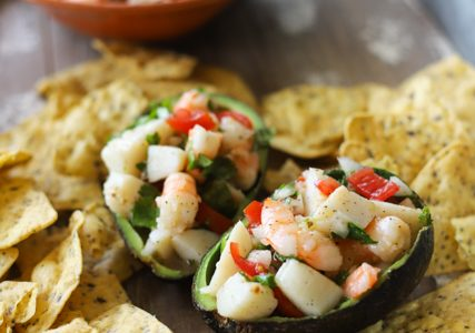 Scallop and Shrimp Seafood Salad Recipe