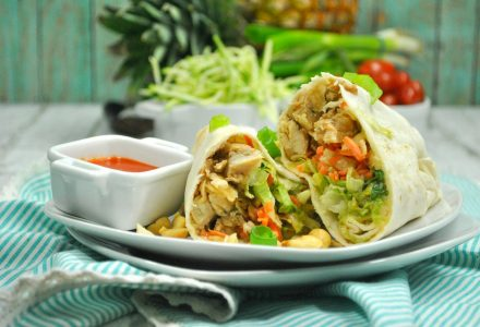 Weight Watchers Thai Chicken Wrap