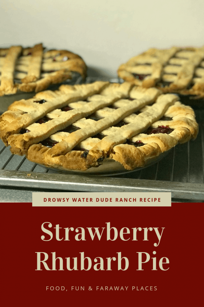 Have you ever tasted fresh strawberry rhubarb pie? It's not too difficult to make and just bursts with flavor. I'm betting this will be on your list of regular dessert recipes.