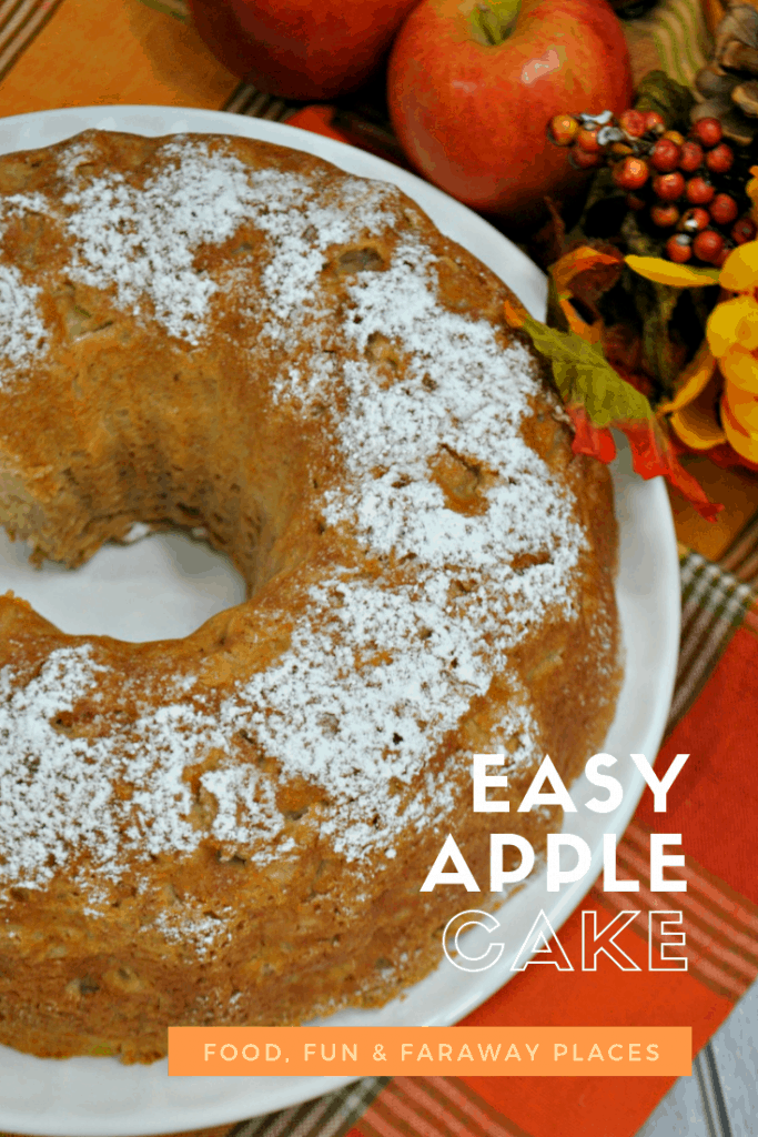 Easy Apple Cake is the Best Last Minute Dessert on the Planet!