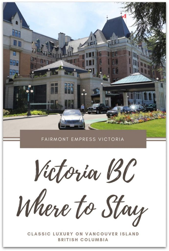 You have a lot of choices when it comes to staying in this capital city of British Columbia located on the southern end of Vancouver Island, but the amenities, service, and history of the Fairmont Empress will win you over again and again. #WorldClassWild #VictoriaBC #CanadaTravel #LuxuryCanadaTravel #LuxuryTravel