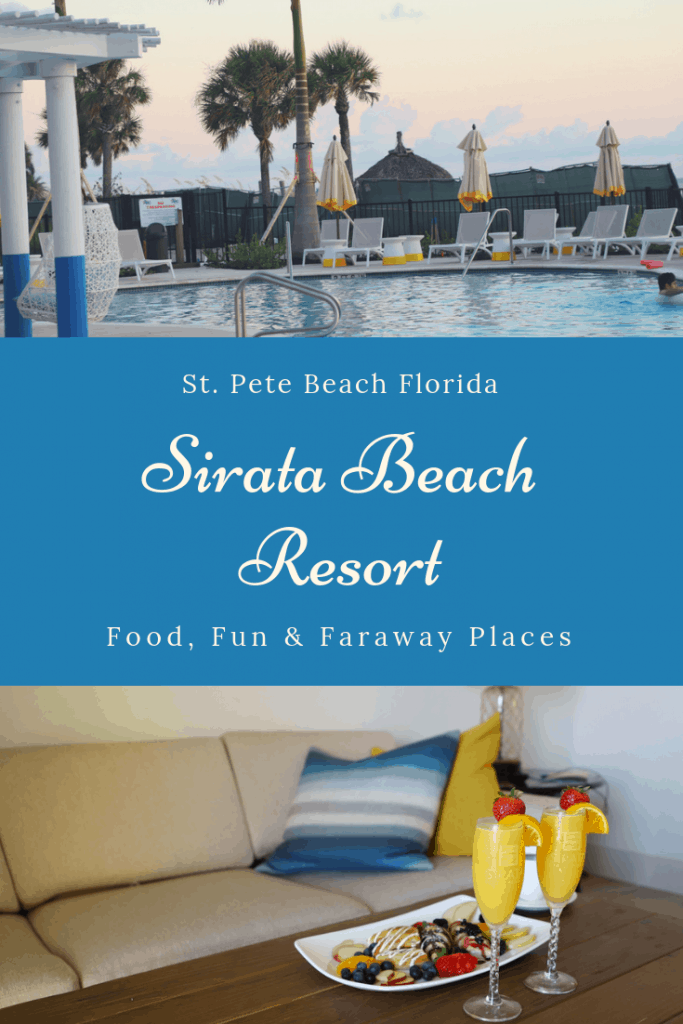 When planning an easy vacation in St. Petersburg, Florida, Sirata Beach Resort is the perfect location, and the amenities are fabulous. #StPeteBeach #BeachVacation #SouthFlorida #FloridaVacations #GetSiratafied #SimplySirata #FamilyVacations