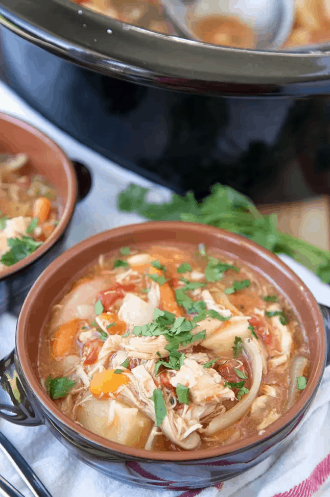 Serve up one of these chicken soups on those days when you aren't feeling like a heavy meal. Soup is just so comforting!