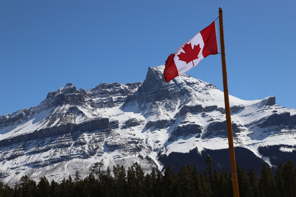 The most scenic drive in Canada has to be the Icefields Parkway, with the stunning snow-capped mountains and glaciers against an almost always blue sky.