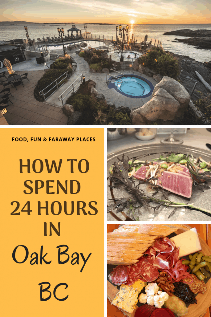 There's a hidden gem called Oak Bay in British Columbia. Located on Vancouver Island, it's easy to see why people fall in love with this picturesque city.