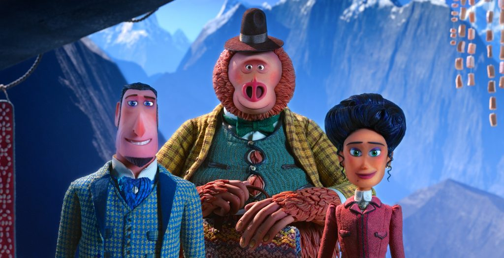Missing Link, the latest film from Laika, is right up my alley. First off, it's stop-motion. Remember Kubo and the Two Strings? My family absolutely loved that film, also from Laika Studios, along with ParaNorman and Coraline.
