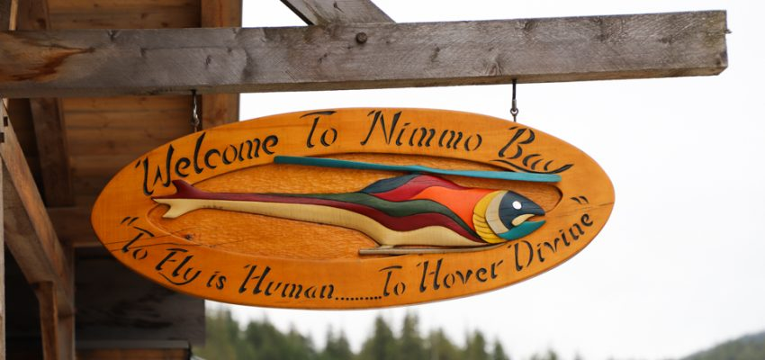 Luxury Wilderness at Nimmo Bay Resort
