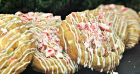 This Candy Cane Cookie Recipe turns out such a delicious treat, and they are easy to make! This will be the most festive dessert on any holiday table!