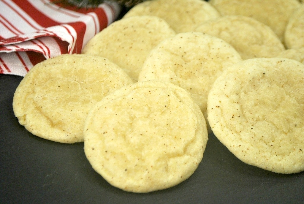 These eggnog cookies are so good! I've heard it said that you either hate eggnog or you love it. Which side are you on?