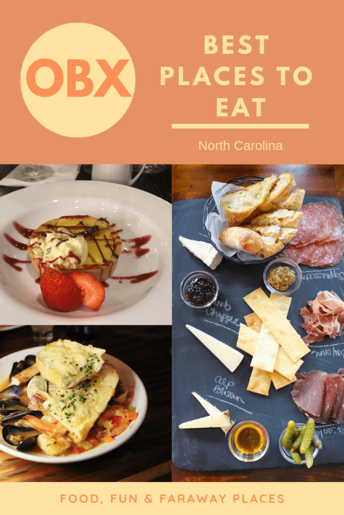 Some of my choices for the best OBX restaurants may surprise you. They aren't very expensive, and they are all pretty casual, as it should be when taking a beach vacation. #OBXnow #OuterBanks #OuterBanksNC
