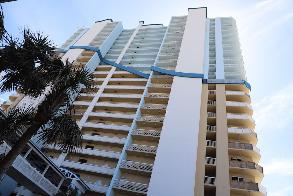 Hotel in Panama City Beach, Florida.