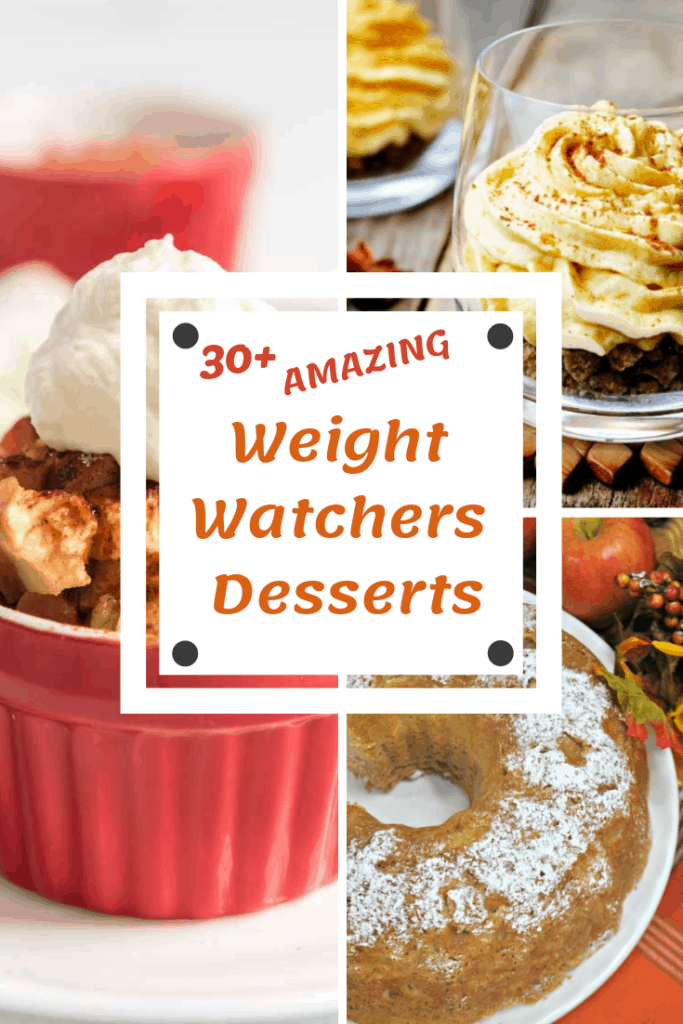 Now that you have this long list of Weight Watchers Desserts recipes, satisfying that sweet tooth is no longer a problem!