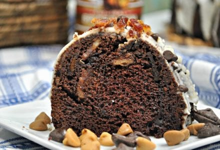 This Chocolate Jamaican Rum Cake is so easy to make, the the rum gives it a kick and makes the texture so moist. Take this to a party and be a huge hit!