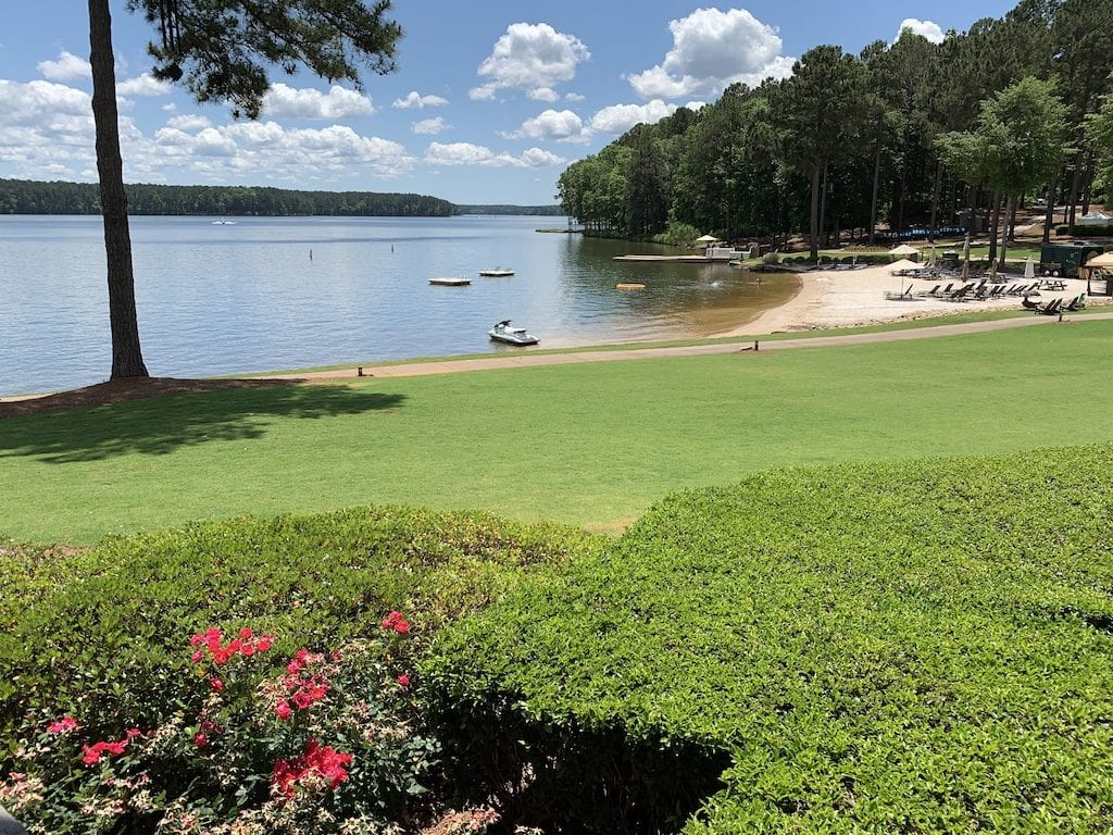Ritz Carlton Lake Oconee is a golf and nature lovers paradise. With gorgeous views, lots of outdoor activies, and great dining, this is a must visit resort.