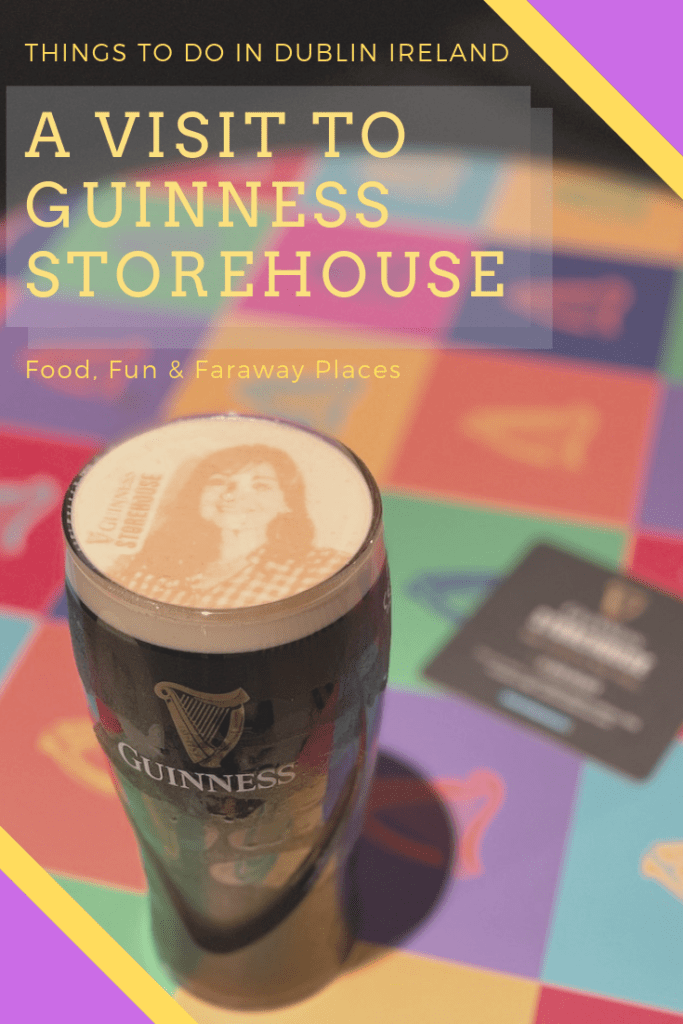 Guinness draught is best enjoyed at Guinness Storehouse, its Dublin home. Explore the history and flavor of Guinness draught at this iconic Dublin brewery. #LoveDublin #LoveIreland #StellerStories #Guinness