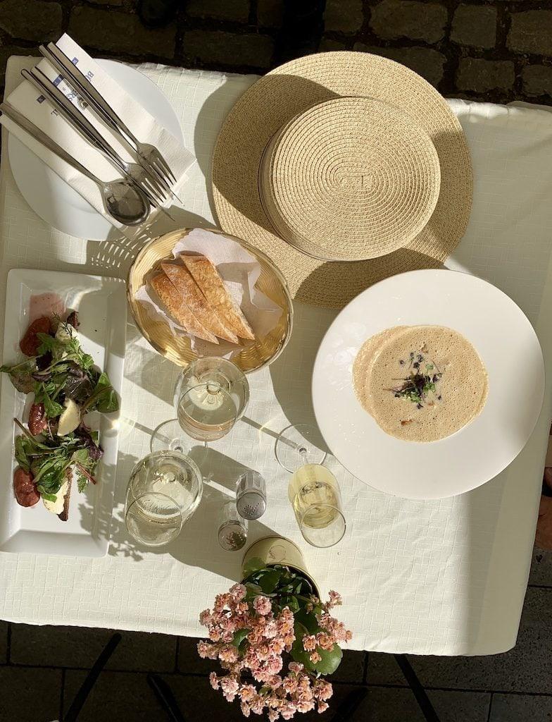 Burgerspital Wine Estate soup