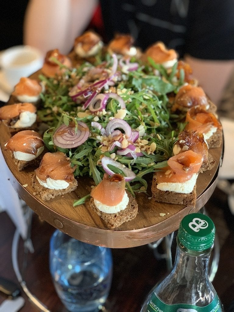 Guinness draught is best enjoyed at Guinness Storehouse, its Dublin home. Explore the history and flavor of Guinness draught at this iconic Dublin brewery, preferably with this salmon!