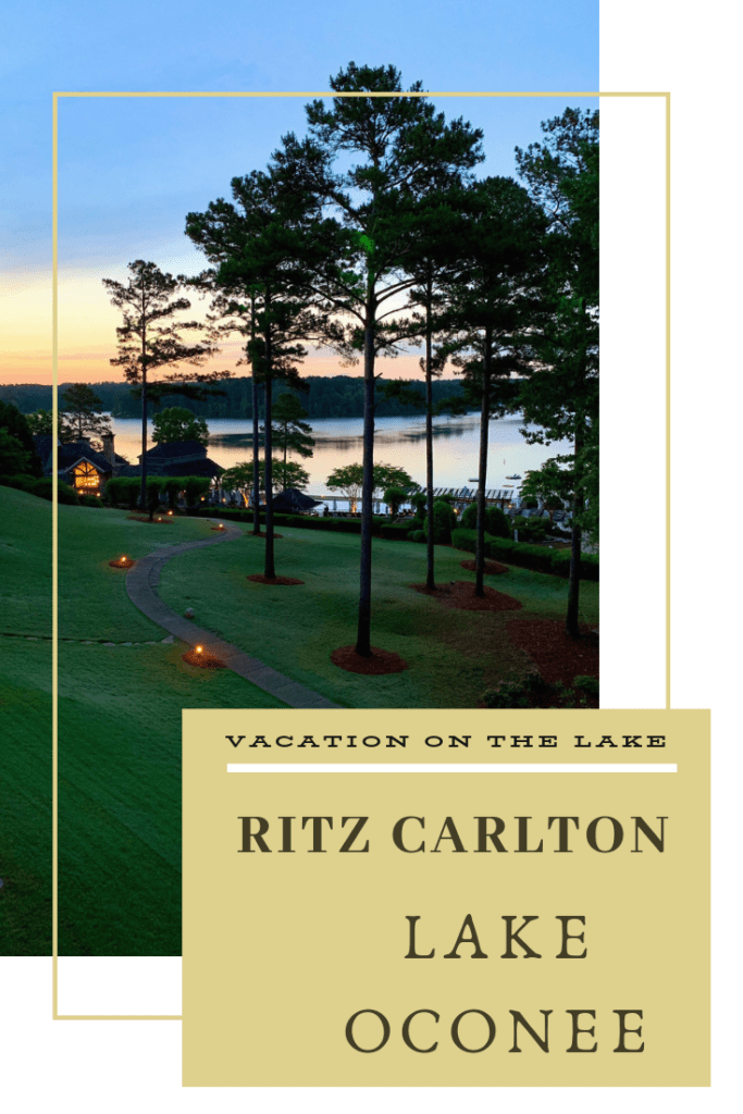 Ritz Carlton Lake Oconee is a golf and nature lovers paradise. With gorgeous views, lots of outdoor activies, and great dining, this is a must visit resort. #reynoldsgolf #reynoldsmoments #reynoldslakeoconee
