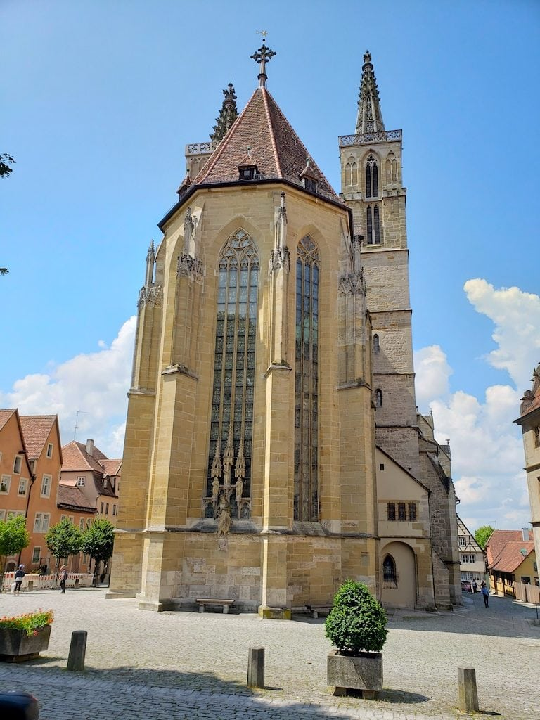 Lovely Rothenburg Germany is one of the most famous cities along the Romantic Road itinerary. You could easily spend a few days in this city!