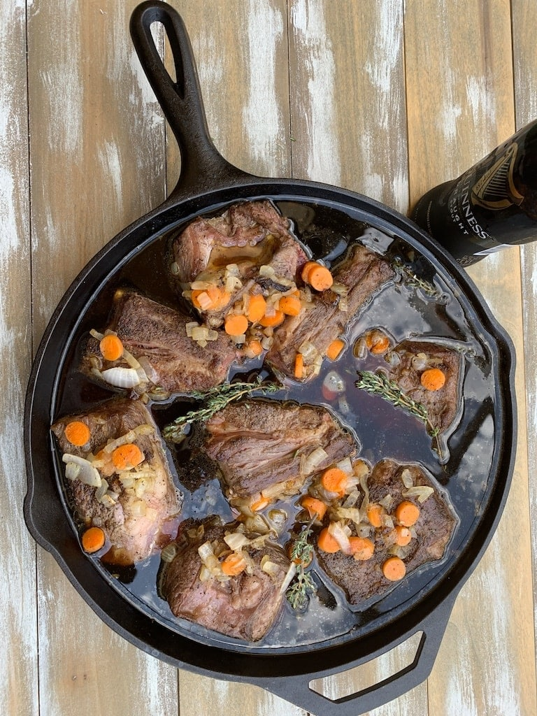 You haven't lived until you've tried Guinness braised beef short ribs. Have you ever cooked with Guinness beer? It's wonderful with beef!
