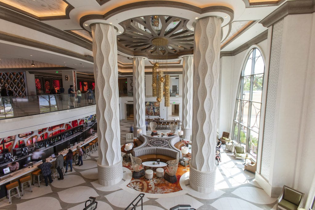 Coronado Springs Resort has just added a new area to its massive resort, Gran Destino Tower, and it's gorgeous.