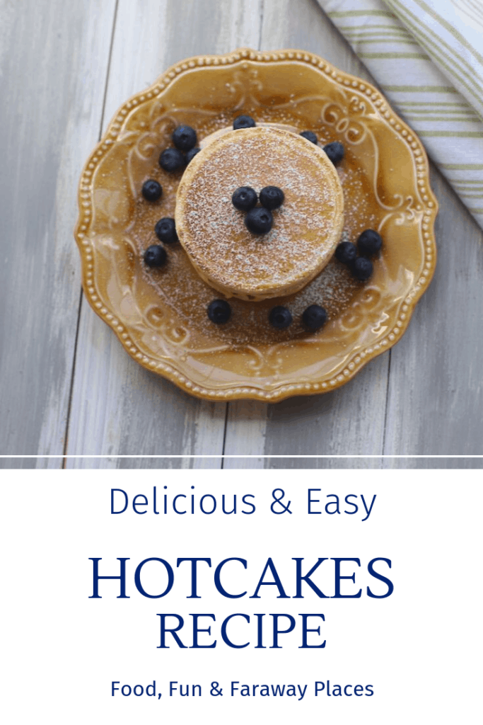This hotcakes recipe I was given in Cabo San Lucas a few months ago is the best I've ever eaten. Now you can make them at home. Bonus - it's easy! #EasyHotcakes #EasyHotcakeRecipe #EasyPancakes