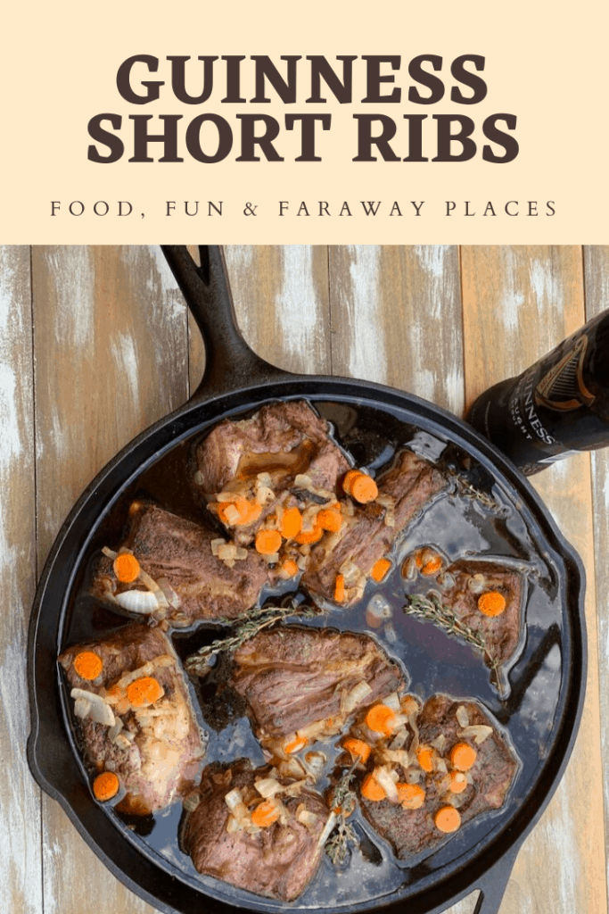 You haven't lived until you've tried Guinness braised beef short ribs. I've always loved cooking with Guinness. You've got to try this recipe! #shortribs #guinness #ribs