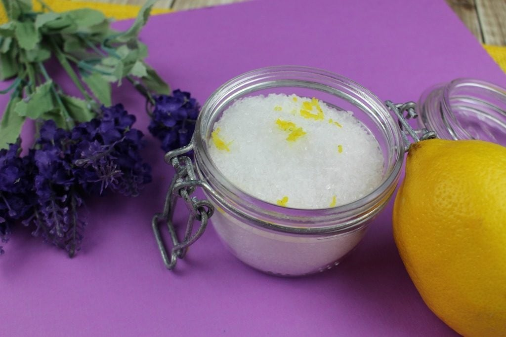 Have you ever taken a bath with lavender bath salts?