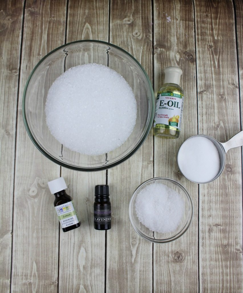 I know this Lavender Bath Salts recipe might come as a surprise as I typically write about food and travel.